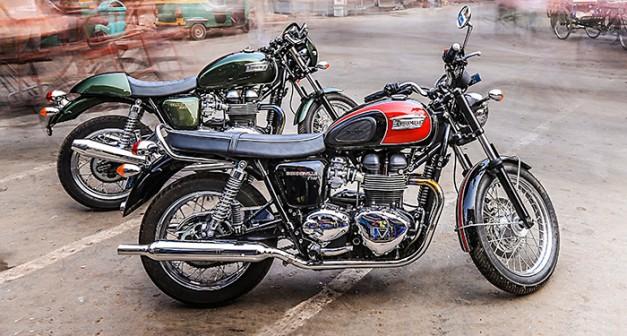 Triumph Bonneville T100 & Thruxton