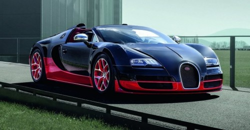 Bugatti veyron fuel tank capacity