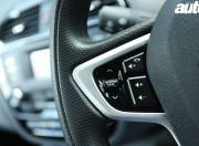 Tata Zica steering mounted audio controls