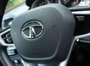 Tata Zica steering mounted controls