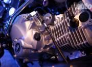 Bajaj V 150cc INS Vikrant Indian Navy BIke Engine