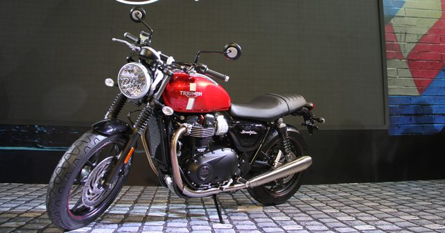 Triumph Bonneville Street Twin T120 And Thruxton R Launched In