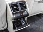 New Skoda Superb rear air vents