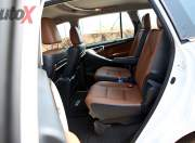 Toyota Innova Crysta second row seating