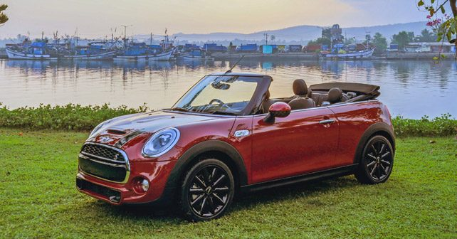 Mini Cooper S Convertible Review First Drive Autox