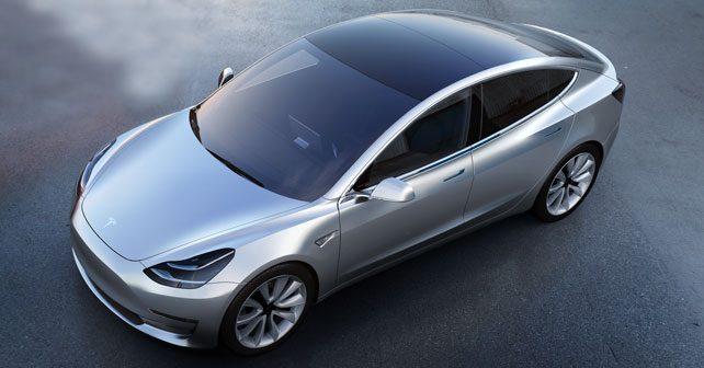 Tesla Front Three Quarter