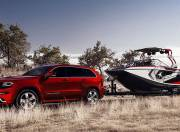 2016 jeep cherokee srt exterior red towing