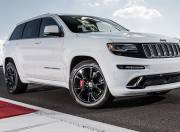 jeep cherokee image srt exterior white 3 quarter front