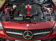 2017 Mercedes AMG SLC 43 engine
