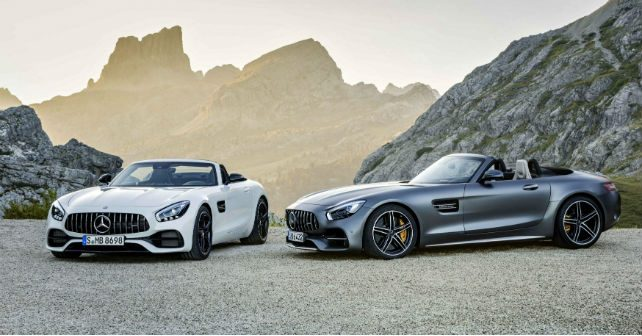 Mercedes-AMG GT Roadster and GT C Roadster Unveiled - autoX