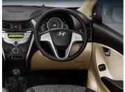 Hyundai Eon Interior Pictures steering wheel 054