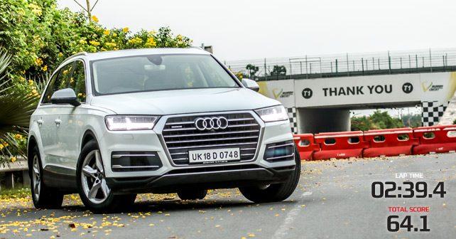 Audi Q7, Track Test