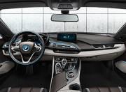 BMW I8 interior photo dashboard 059