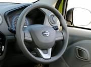 Datsun Redi GO Interior photo steering wheel 054