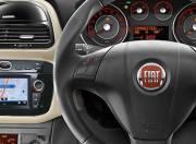 Fiat Punto EVO interior photo steering wheel 054