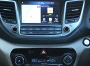 Hyundai Tucson interior central console