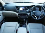 Hyundai Tucson interior dashboard
