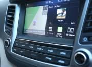 Hyundai Tucson interior infotainment system