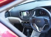 Hyundai Tucson interior steering