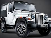 Mahindra Thar Exterior Photo front right view 120