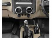 Mahindra Thar Interior Photo gear shifter 087