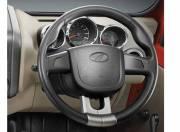 Mahindra Thar Interior Photo steering wheel 054