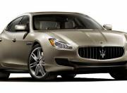 Maserati Quattroporte Exterior photo Right Front Three Quarter 54311 ol