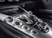 Mercedes Benz AMG GT interior photo gear shifter 087