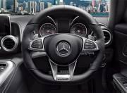 Mercedes Benz AMG GT interior photo steering wheel 054
