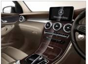 Mercedes Benz GLC interior photo center console 055