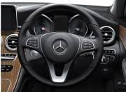 Mercedes Benz GLC interior photo steering wheel 054