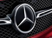Mercedes Benz GLE Coupe exterior photo front grill logo 098