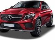 Mercedes Benz GLE Coupe exterior photo front left side 047