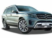 Mercedes Benz GLS exterior photo front right view 120