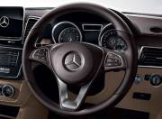 Mercedes Benz GLS interior photo steering wheel 054
