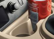 Nissan Terrano interior photo front armrest storage 061