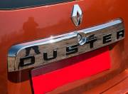 Renault Duster Exterior Photo tail gate logo 099