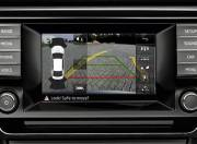 Skoda Superb Interior photo parking camera display 136