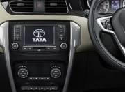 Tata Zest Interior Picture center console 055