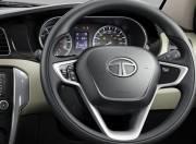 Tata Zest Interior Picture steering wheel 054