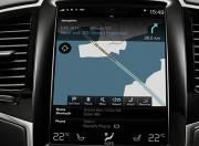 Volvo XC90 image navigation or infotainment mid closeup 112