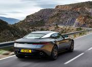 aston martin db11 image rear right view