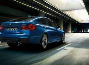 bmw 3 series gran turismo image rear three quarter
