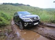 toyota fortuner image front three quarter high angle