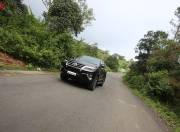 toyota fortuner exterior photo front three quarter motion