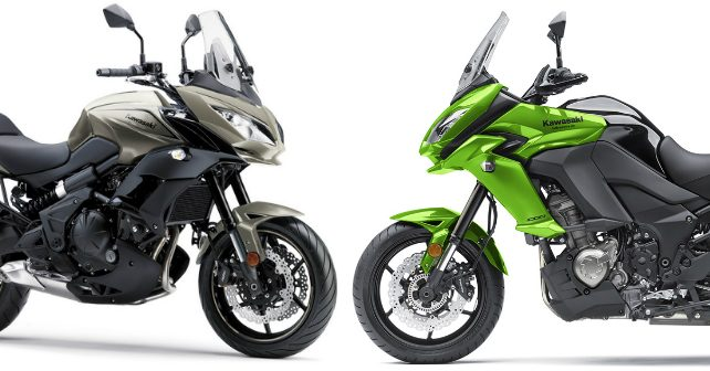 kawasaki versys 650 and versys 1000 to get updates autox. Black Bedroom Furniture Sets. Home Design Ideas