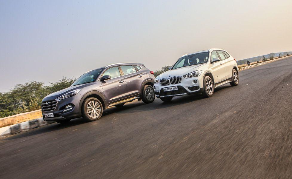 BMW Of Tucson >> Hyundai Tucson Vs Bmw X1 Photos Autox