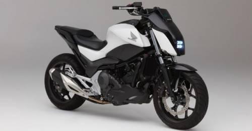 CES 2017 Honda Self Balancing Motorcycle Concept