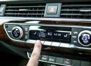 Audi A4 dashboard controls