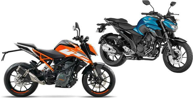 yamaha fz25 or ktm 250 duke which one is for you autox